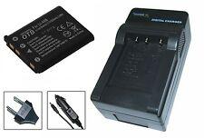Akku + Ladegerät für Rollei DS-5370 - Flexline 140, 100 inTouch, 200, 202, 250