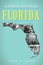 A Concise History of Florida by James C. Clark (2014, Paperback)