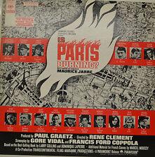 """OST - EST EST PARIS BURNING ? - MAURICE JARRE 12"""" LP (T56)"""