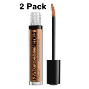 NYX Cosmic Metals Lip Cream 2 Pack-CMLC13 Celestial