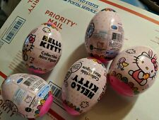 *Lot Of 5* Hello Kitty Pink Easter Egg Blind Bag Collectible Mini Figure Htf New