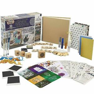 KreativeKraft Adult Scrapbook Accessories Kit with Over 60 Creative Craft Items