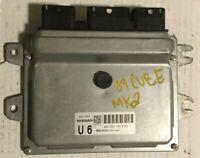 ECU ECM Engine Control Module 2009 Nissan Cube 1.8 A/T l A56-D65 #8223