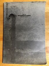 JUNGJIN LEE THE AMERICAN DESERTS 1993 Her 2ND Publication RARE Korean Catalogue