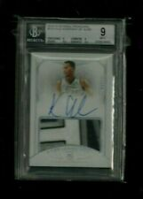 Kyle Anderson National Treasures ON-CARD Rookie Patch Auto #/99! BGS 9 Grizzlies