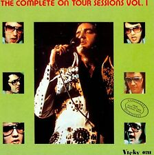 RARE CD IMPORT ELVIS PRESLEY- THE COMPLETE ON TOUR SESSIONS - VICKY