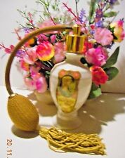 Lady Marian toilete water perfume decanter with original bulb..Salux Perfumer