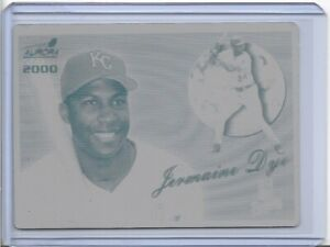 1/1 JERMAINE DYE 2000 PACIFIC AURORA PRINTING PLATES ROYALS CARD #69 1 OF 1 LOT