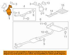 Chevrolet GM OEM 2012 Captiva Sport 3.0L-V6-Catalytic Converter 22821111