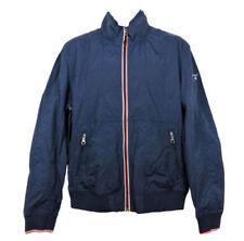 Cappotti e giacche da uomo blu con cappucci Taglia 46