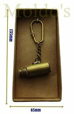 Telescope Brass Nautical Keychain Gift Keyring Spyglass Vintage Brass Pirate