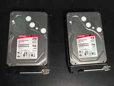 Netgear ReadyNas Duo V2 RND-2B Windows MAC 2 4Tb Toshiba HDD's Private Cloud