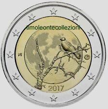 Finlandia  2€ commemorativo  2017 Natura    FDS
