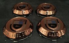 Asanti Wheels Caps In Copper New Style Set Of 4 Pcs Made By ASANTI Size 75 MM