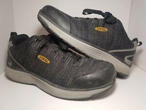 KEEN Mens Black Low Top Utility Steel Toe Work Shoe 11.5D ASTM F2413-18