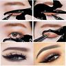 2PCS Makeup Women Cat Line Pro Eye Tool Eyeliner Stencils Template Shaper Model