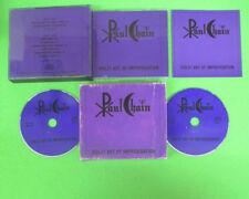 2 CD PAUL CHAIN Violet Art Of Improvisation 1989 Ita  no lp mc dvd  (XS12)