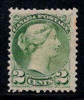 Kanada 1870 Mi. 27 Ungebraucht * 40% 2 C, Königin Victoria