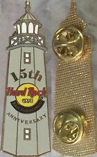 Hard Rock Cafe SAN FRANCISCO 1999 15th Anniversary PROTOTYPE PIN Weave Bk Proto