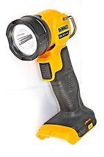 DEWALT 18v XR-LI-ION LED TORCH WORKLIGHT DCL040-XE **SKIN ONLY**EXCELLENT CONDIT