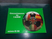 LES VERTS AS SAINT ETIENNE CONNAISSANCE DE L  ASSE 1981/1983 PLATINI REP LARIOS
