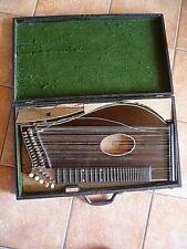 Zither im Holzkoffer mit Zubehör Koffer 62 x 35 cm