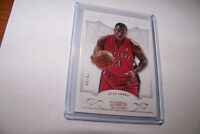 Rare 2012-2013 Panini National Treasures Kyle Lowry Toronto Raptors Serial 20/99