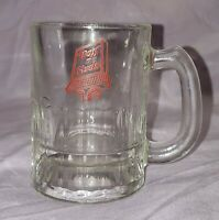 "Dog N Suds Baby Glass Root Beer Soda Mug Stein Drive-In Vintage - 3 1/4"" tall"