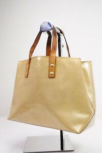 Auth Pre-owned Louis Vuitton Vernis Beige Reade Pm Mini Tote Bag M91144 210122