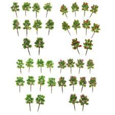 Pack/40pcs 7cm/2.75'' Z Gauge DIY Layout Scenery Plastic Model Flower Trees