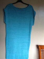 TU Size 12 Pale Blue Short Sleeve Knee Length Jumper Dress