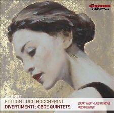 Boccherini: Divertimenti; Oboe Quintets, New Music