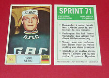 N°55 RUDI ALTIG BRD RFA PANINI SPRINT 71 CYCLISME 1971 WIELRIJDER CICLISMO