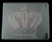 Sizzix Large Embossing Folder CROWN fits Cuttlebug & Wizard 4.5x5.75in