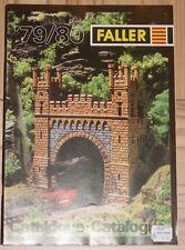 Faller -- Modellbau Jahres Katalog 1979/80  3-sprachig, engl-franz-niederl !