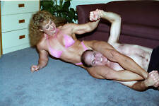 PP141 -Apartment House Wrestling Action - Sandy Bowman and Tom Jackson