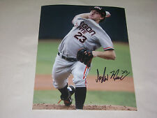 Andrew Moore Oregon State Baseball Signed 8x10 Photo College World Series