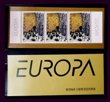 TEMA EUROPA. 2001 BOSNIA  HERZEGOVINA CARNET II EL AGUA