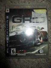 GRID (Sony PlayStation 3, 2008) ps3 w/ Case