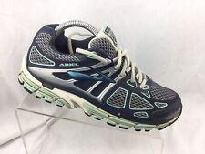 d5808161c46d0 BROOKS Ariel 14 Women s Running Shoes Sz 9.5 B 1201641B399 Navy Silver Blue