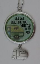 a Life is beautiful with you by my side LOST WITHOUT YOU CAR CHARM ornament