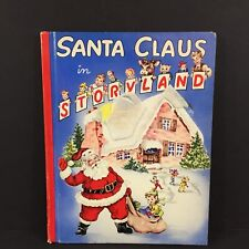 Vintage Santa Claus in Storyland Pop Up Book 1950 Childrens Christmas Story