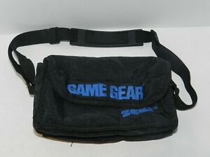 Official OEM Black Sega Game Gear Carrying Case for System and Games