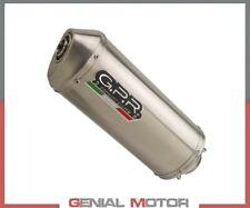 Auspuff SCHALLDAMPFER GPR Satinox Genehmigt Suzuki Dr 350 - s 1990 1993