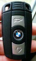 Coque Clé Télécommande BMW Serie 1 3 5 6 7 E90 E93 E92 M3 M5 X3 X5 Z4 3 boutons