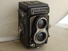 Rolleiflex T Zeiss Tessar 75mm 1: 3.5  f/3,5 TLR Grey Grigio + Custodia