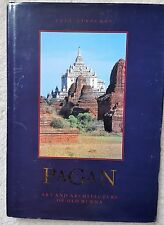 PAGAN HARDCOVER BOOK ART ARCHITECTURE OF OLD BURMA PAUL STRACHAN 1989 KISCADALE