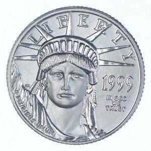 PLATINUM - 1999 - $10 1/10 Oz. - American Platinum Eagle - Rare *428