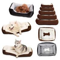 Bone Shape Printed Pet Bed Mattress Dog Cat Pad Mat Cushion Nest for Dog SN9F