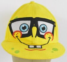 Yellow Nickelodeon SpongeBob Squarepants Embroidered Baseball Hat Cap Fitted